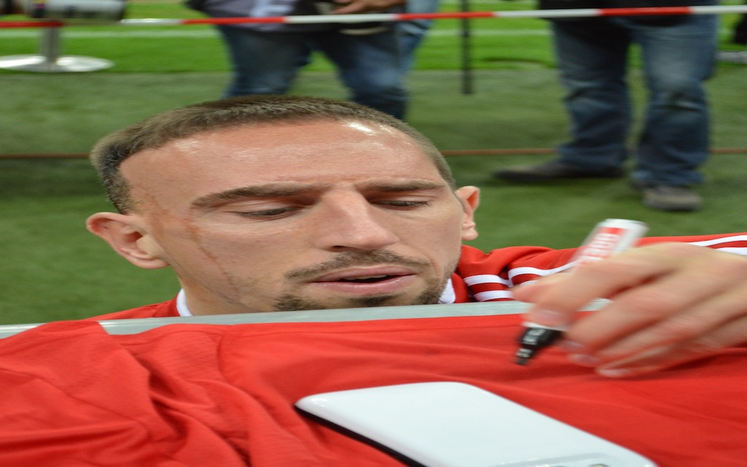 Abschied von Franck Ribéry